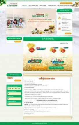 Website mini game Thuốc Ho Bảo Thanh