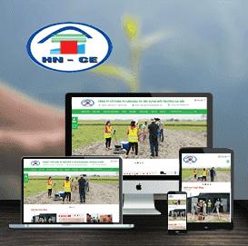 Website Công ty Xây dựng Môi trường Hà Nội (HNCE)