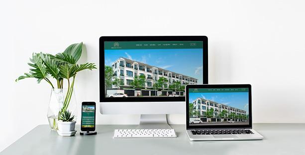 Website căn hộ ST5 Dahlia Homes
