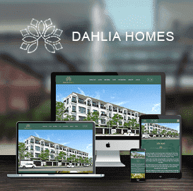 Website căn hộ ST5 Dahlia Homes