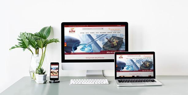 Website Công ty Luật TNHH ELITE