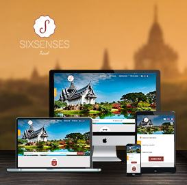 Website Du lịch Sixsenses-travel