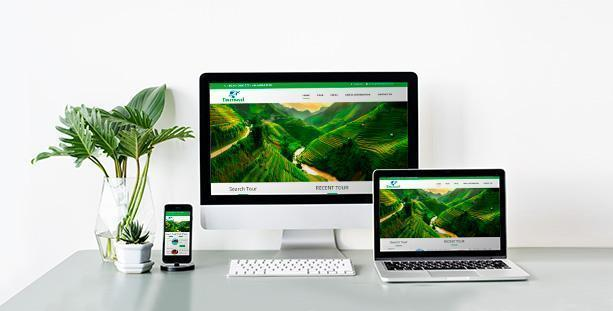 Website Du lịch  TIMETRAVEL