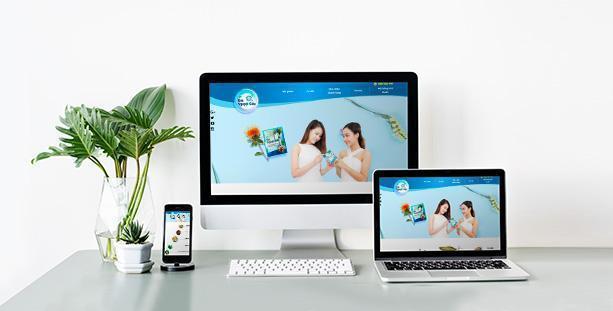 Website Dược phẩm Cốm Kim Nguyệt kiều