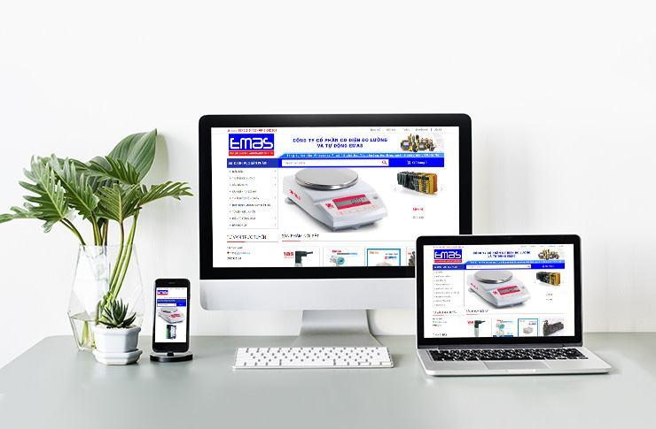 Website Công ty cổ phần cơ điện đo lường và tự động Emas