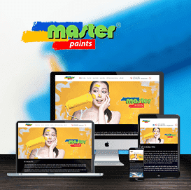 Website Hãng sơn MASTER PAINT