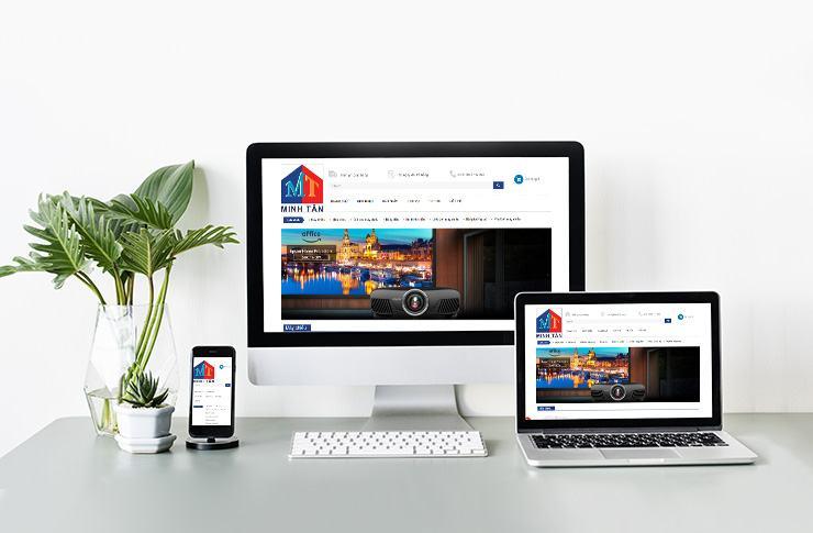 Website Máy chiếu Tín phát