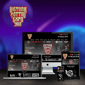 Website Việt Nam Tattoo Expo