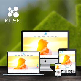 Website Thiết bị khách sạn Kosei