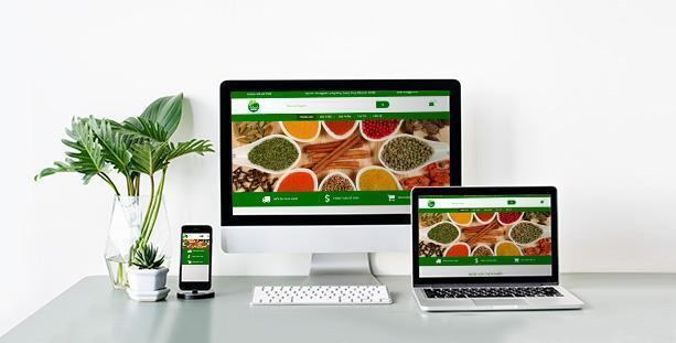 Website Cung cấp nông sản