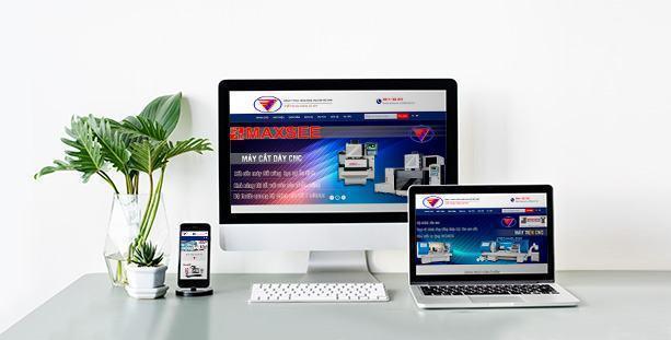 Web thiết bị gia công cơ khí Machineshop