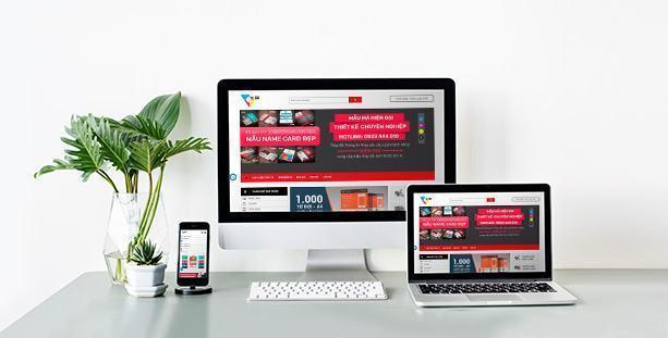 Mẫu website Kho mẫu in ấn