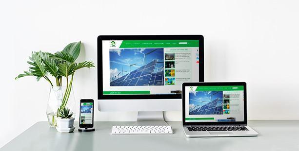 Mẫu website nhãn năng lượng