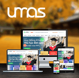 Website Du học Umas