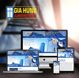 Website Cửa nhựa lõi thép Gia Hưng