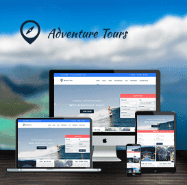 Mẫu website Travel