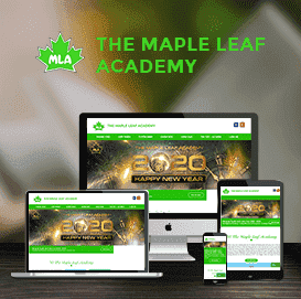 Website The Maple Leaf Academy