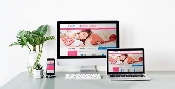 Website chăn điện Baby Việt