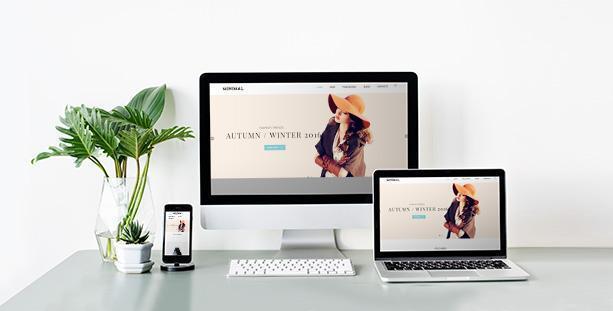 Website thời trang Minimal