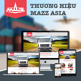 Website oto tải Maz Asia