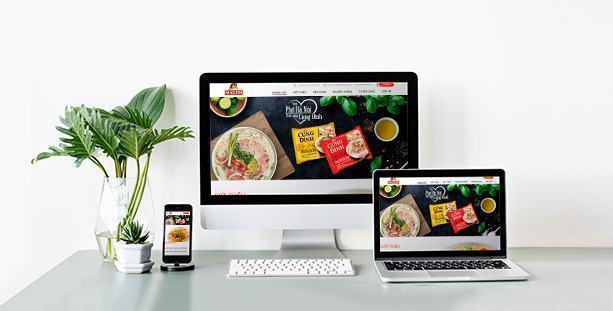 Website bán hàng Micoem