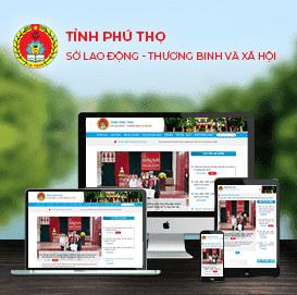 Website Sở LĐTB&XH Phú Thọ