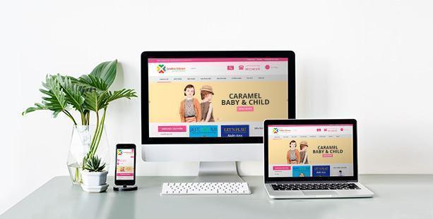 Website Babystore