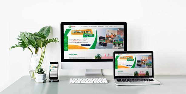 Web site công ty Châu Hưng