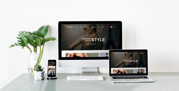 Mẫu Website Fashion store