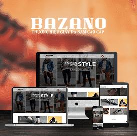 Mẫu Website Giày da