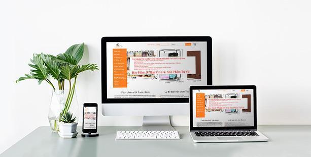 Website Tủ vải