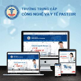 Web Trường Trung cấp Công y tế Pasteur