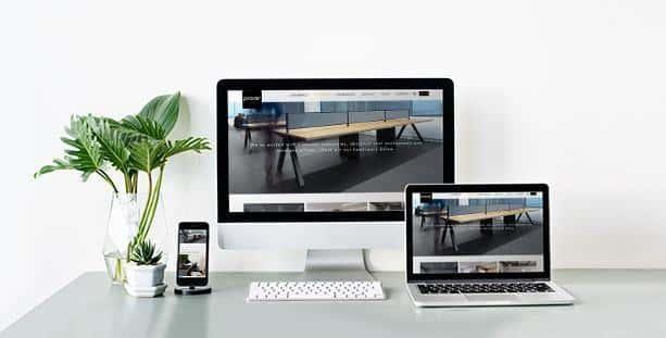 Website nội thất Proce