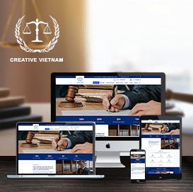 Website luật demo