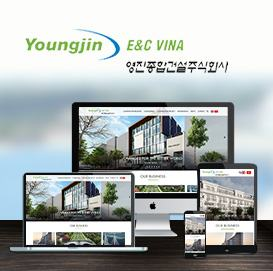 Website công ty YoungJin E&C vina