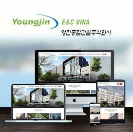Website công ty YoungJin E&C vina